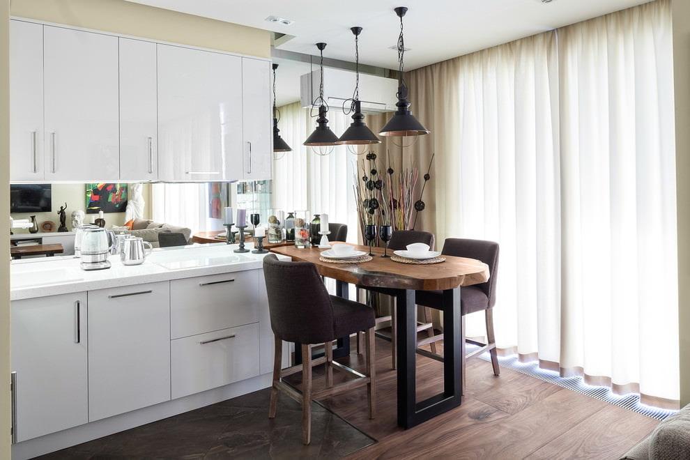 шторы на кухню фото 2017