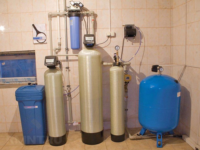 фильтр для воды из скважины до питьевой