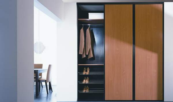 глубина шкафа для одежды