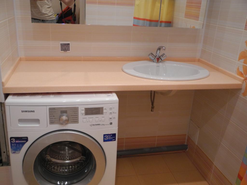 Раковина над стиральной машиной: особенности установки и 85+ продуманных решений для функциональной ванной комнаты (2019)