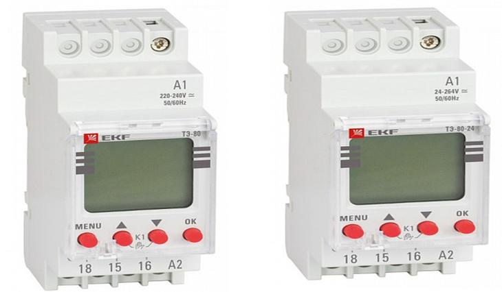 Таймер электронный серии тэ-02, тэ-15
