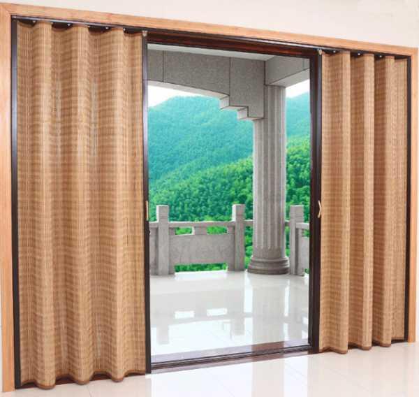 Бамбуковые шторы: экзотика и шарм (24 фото)
