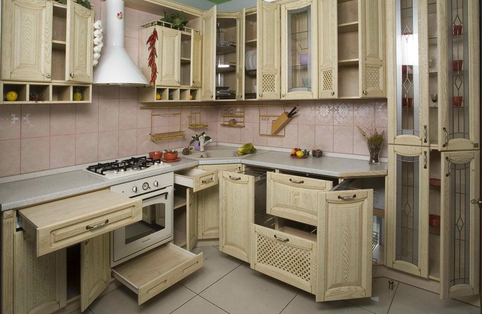 расстояние между шкафами на кухне и столешницей