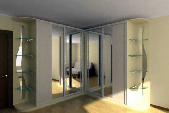 Существующие шкафы купе для гостиной, и правила выбора