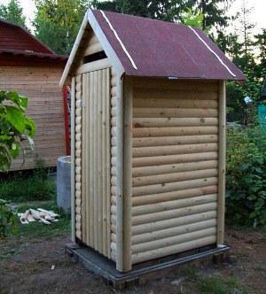 летний туалет
