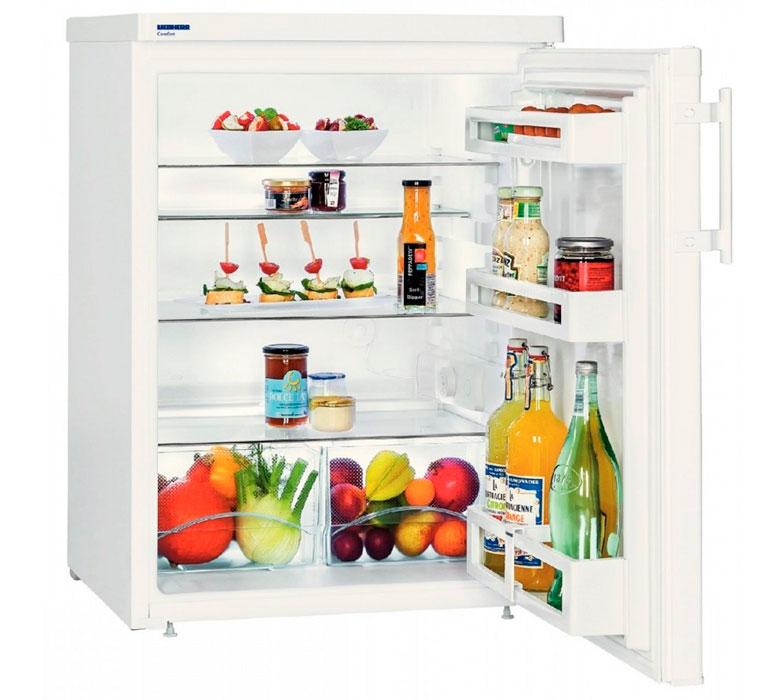 небольшой холодильник с морозильной камерой