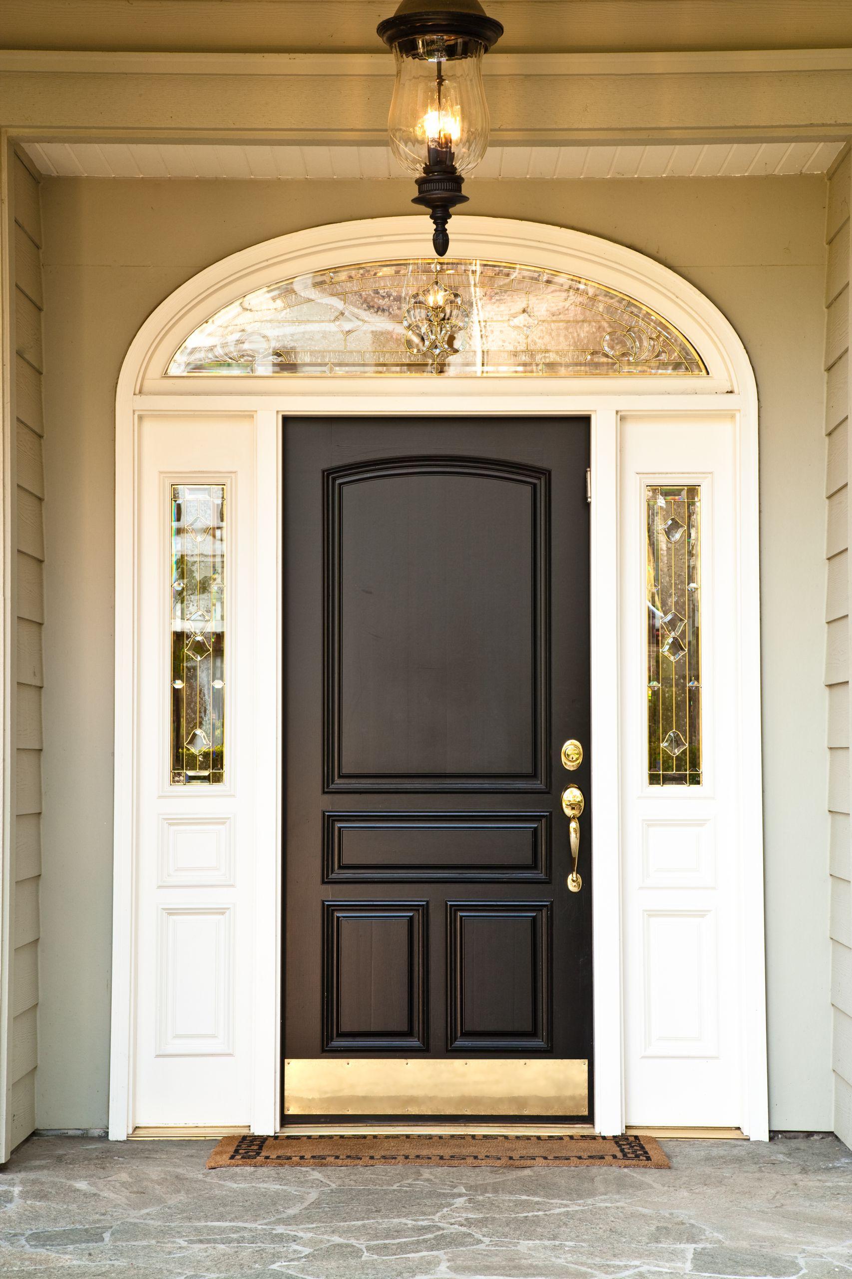Стандартный размер проема под входную металлическую дверь