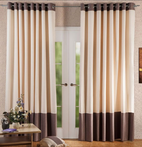 Варианты использования льняных штор в интерьере: римские шторы, кружевные, льняная тюль