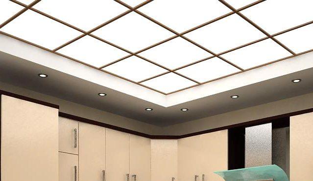 Натяжные светящиеся потолки: разновидности и монтаж конструкций