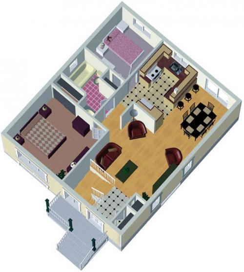Планировка дома: правила и советы по зонированию пространства