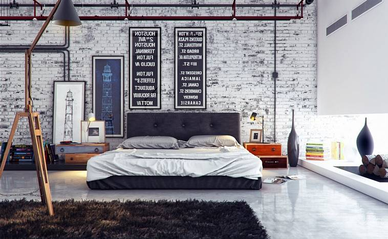 Кирпичная стена (105 фото): использование в интерьере серой и темно-красной кладки из кирпича, дизайн внутренней отделки в квартире