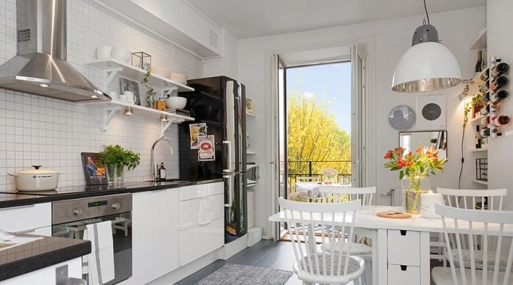 кухня 14 кв м дизайн фото