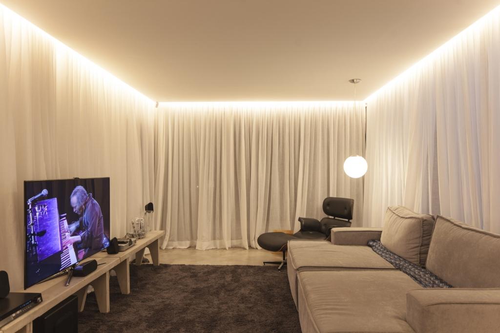 Парящий потолок из гипсокартона с подсветкой: как сделать своими руками, схема конструкции и освещения