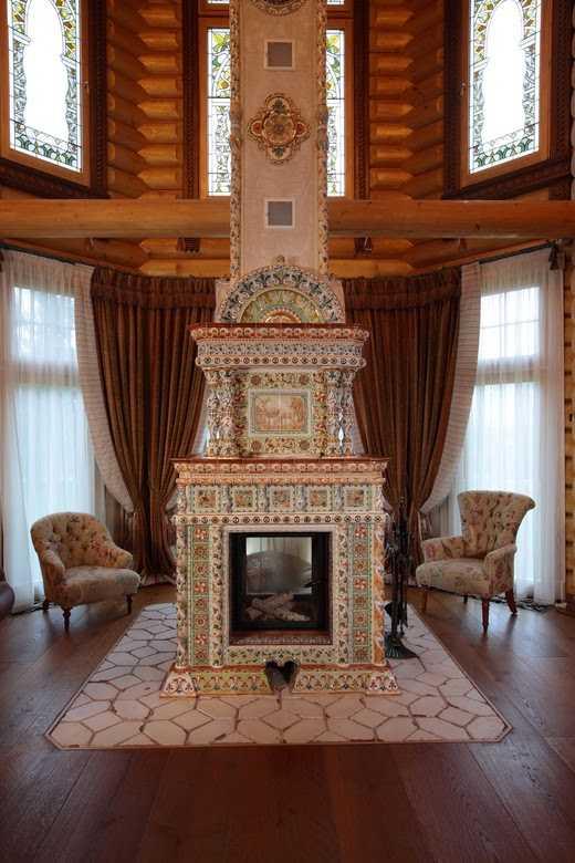 русская деревянная изба