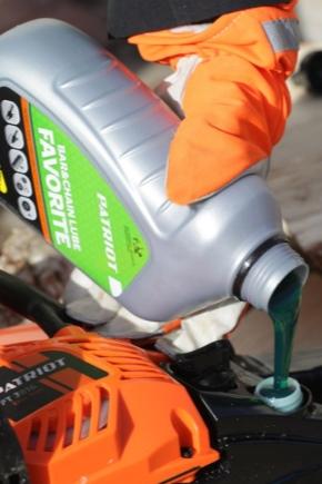 Какое масло для цепной электропилы использовать для смазки?
