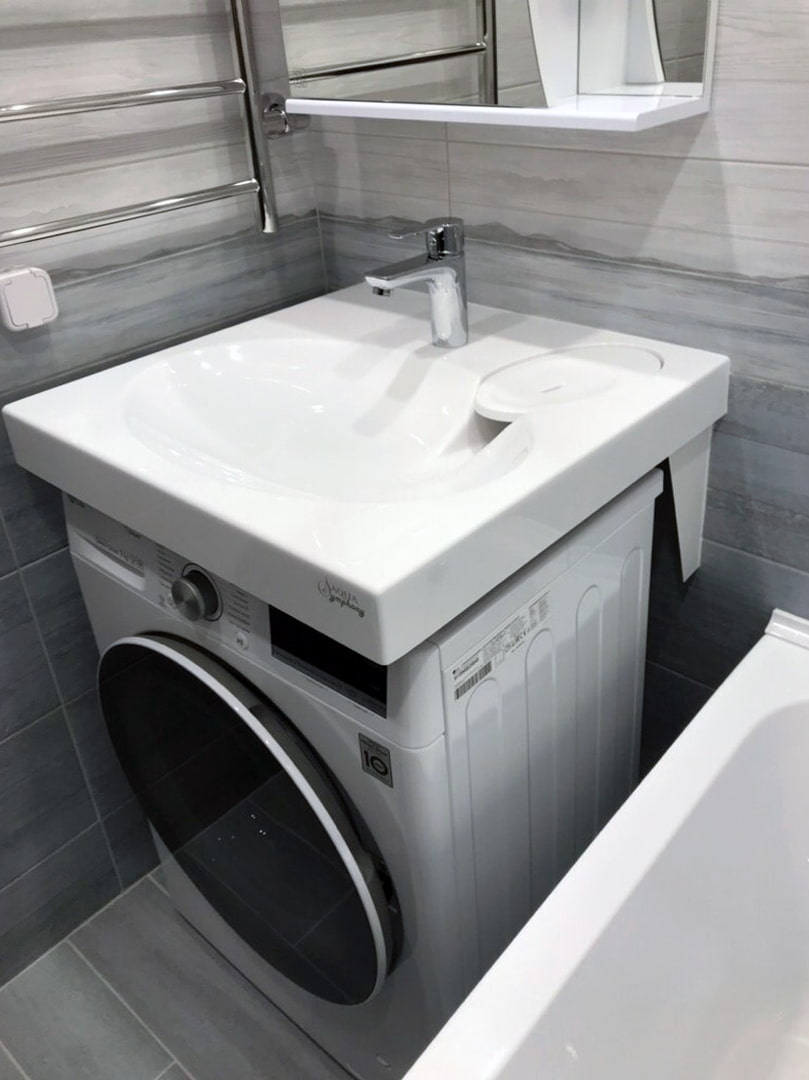 Стиральная машинка под раковину: нюансы выбора и установки