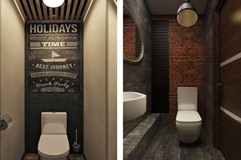 Ремонт туалета: особенности и идеи оформления