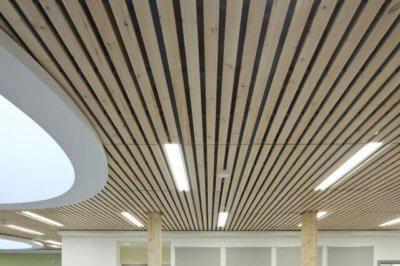 Устройство деревянной обрешетки потолка