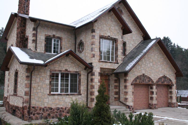 фасады домов фото варианты отделки
