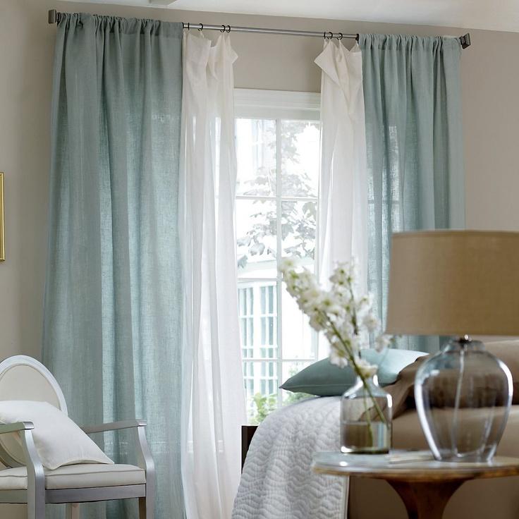 Льняные шторы: натуральность и красота в интерьере