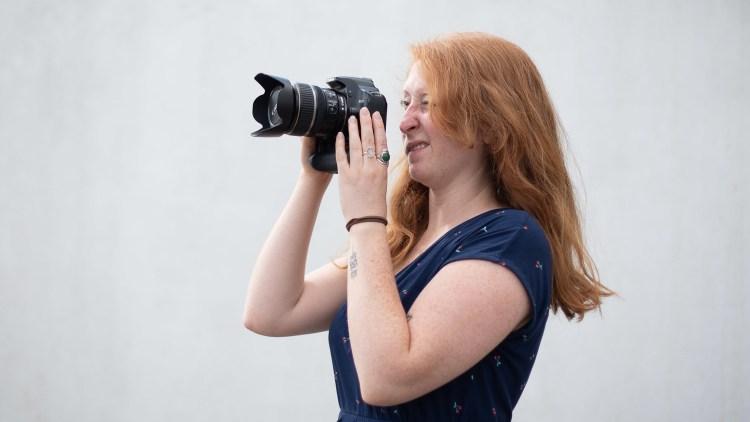 Профессиональный фотограф. новая цифровая фотография
