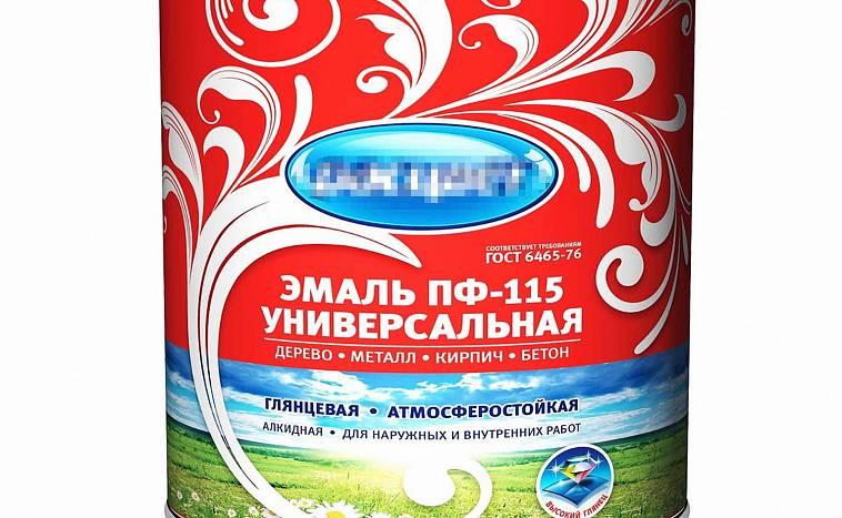 Эмаль пф-115: технические характеристики и расход на 1 м2, сертификат соответствия госту 6465 76
