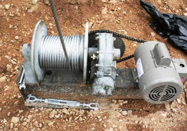 Самодельная лебёдка: принцип работы ручного устройства, поднятие грузов, преимущества подъёмного механизма