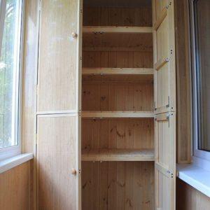 шкафы на балконе интересные идеи фото