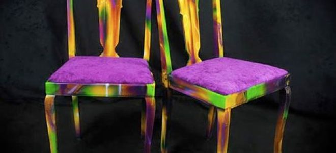 Перетяжка стульев: обновляем старую мебель