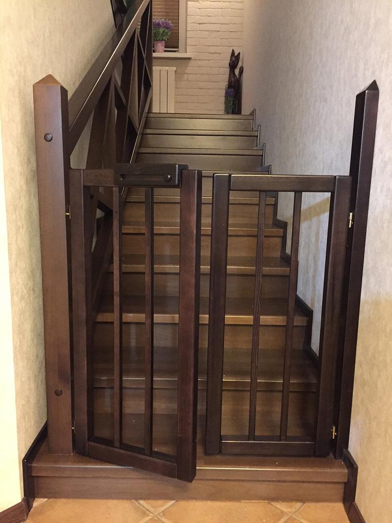 Калитка на лестницу от детей