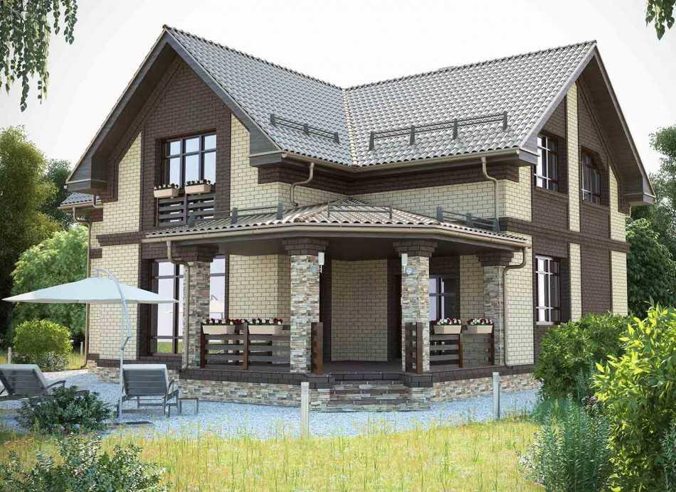 Частный дом 120 кв. м. – лучшие варианты планировки, современные решения дизайна и оформления интерьера (125 фото)