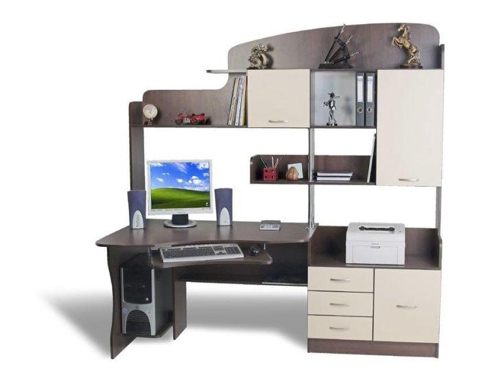 Угловой стол для школьника (24 реальных фото): лучшие модели, оптимальные размеры