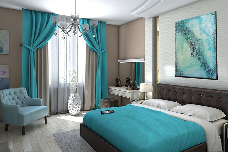 Тройные шторы: особенности, преимущества, подбор карниза, в спальню, в гостиную