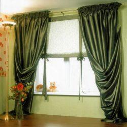шторы в прихожую в частном доме