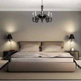На какой высоте вешать бра в коридоре, над диваном, в спальне
