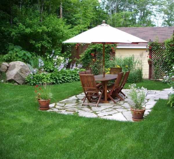 Дизайн двора частного дома: актуальные решения 2019 года и стильные идеи оформления двора (110 фото)