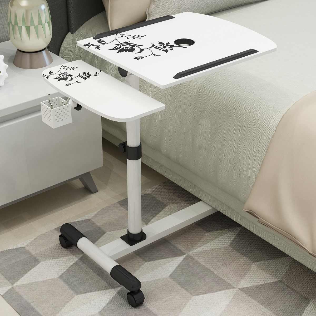 Приставные столики к дивану: диванный подкатной стол для ноутбука и придвижные журнальные столы, выкатные столы-приставки для еды и другие модели