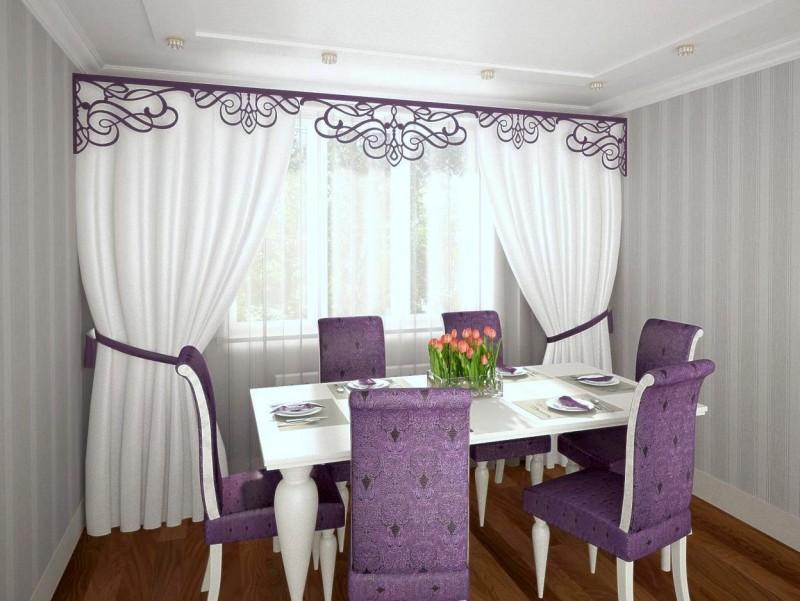 Короткие шторы на кухню: красивые и современные готовые дизайны занавесок