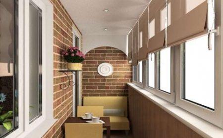 Отделка балкона мдф панелямиправила установки, советы по выбору панели