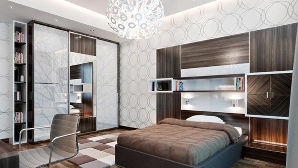 Мужские обои (35 фото): как выбрать настенные покрытия для мужчин в комнату, дизайн стен для молодых парней в возрасте 20-25 лет, в стиле «классика»
