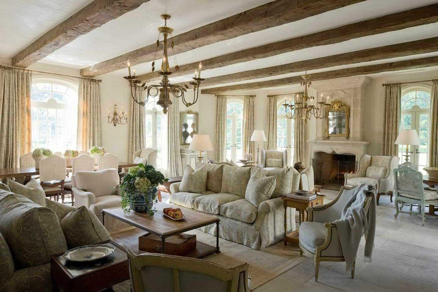 Особенности провинциального дизайна – комнаты в стиле прованс