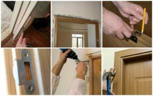 как обновить двери межкомнатные своими руками