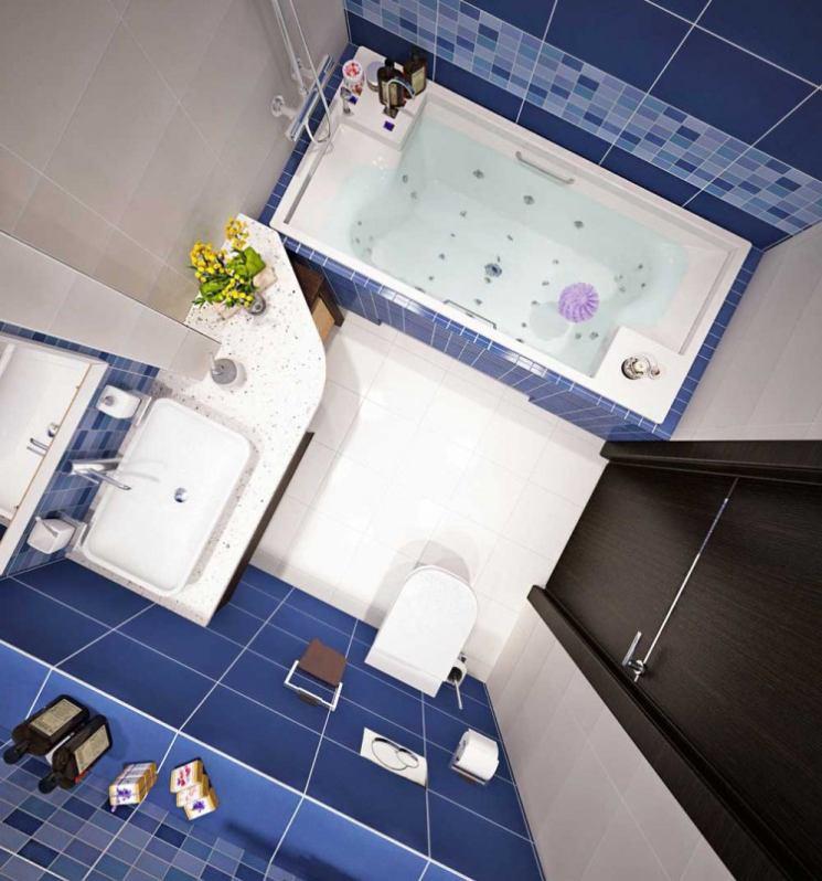 Креативный дизайн ванной 2020-2021 фото, модные ванны, интерьер ванной новинки