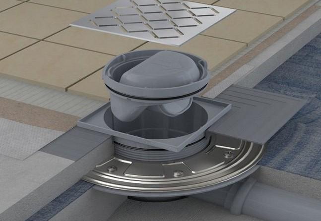 Трап для душа в полу под плитку с гидрозатвором - самстрой - строительство, дизайн, архитектура.