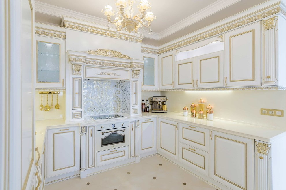 90+ фото классического стиля в интерьере кухни в 2019–2020 году