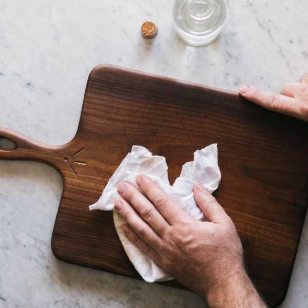 Чем пропитать деревянную разделочную доску для кухни