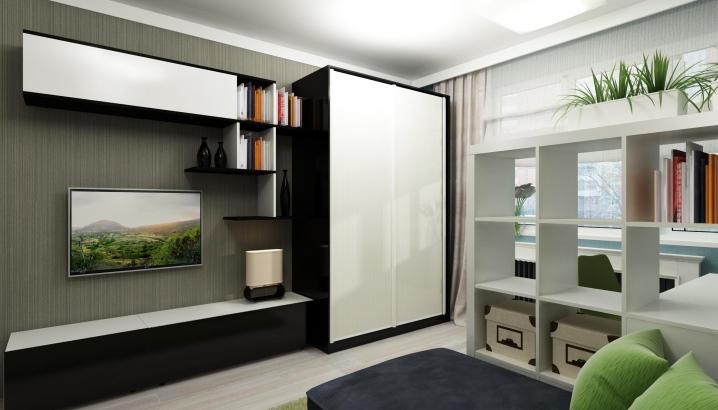 Шкаф купе в гостиную, плюсы и минусы, варианты оформления фасада