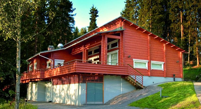 дизайн интерьера домов из клееного бруса