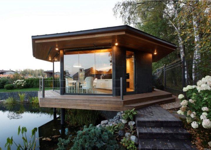 Лучшие летние кухни на даче с барбекю: проекты и планировка и дизайн