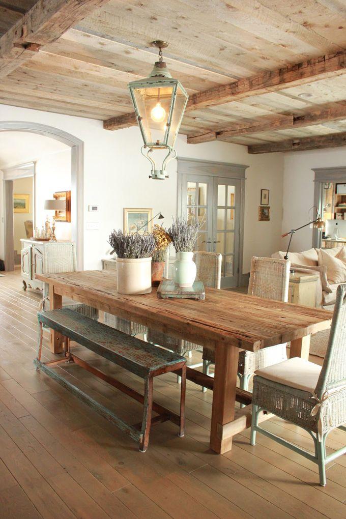 Интерьер кухни в стиле прованс: декор, в деревянном доме